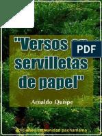 VERSOS EN SERVILLETAS DE PAPEL
