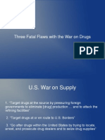 Three Fatal Flaws in the War on Drugs 2