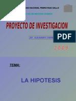 HIPOTESIS Unidad Didáctica