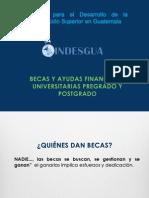 Becas en Guatemala y El Extranjero 2012