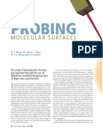 probing molecular surfaces