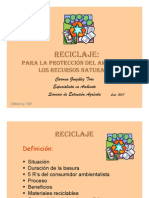 Presentacion Charla de Reciclaje