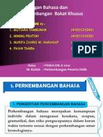 Perkembangan Bahasa dan Bakat Khusus