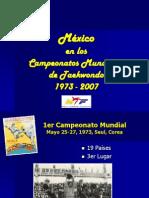 CAMPEONATOS MUNDIALES TAEKWONDO WTF