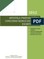 APOSTILA BANCO DO BRASIL 2012 COMPLETA
