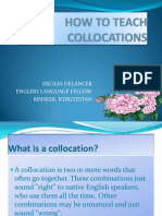 How to Teach Collocations - Ercilia
