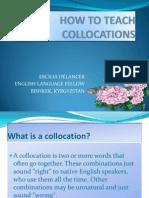 How to Teach Collocations - Ercilia