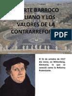 """""""El arte barroco italiano y los valores de la Contrarreforma"""""""