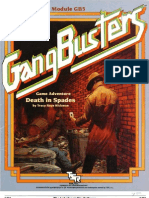 Gangbusters - GB5 - Death in Spades