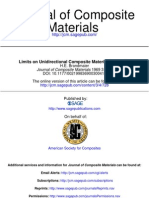 Limits on Unidirectional Composites