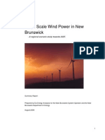 GUI large scale wind power _study case New Brunswick _dk2008