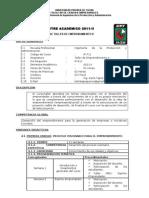 Silabo Ip-711 Taller de Emprendimiento II
