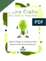 Fun, Green Campcrafts
