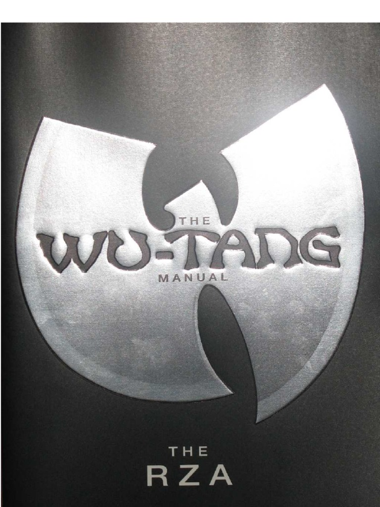 wu tang manual chapter book one rh scribd com wu tang manual rza wu tang manual read online