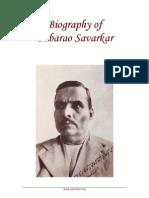 Life of BabaRao Savarkar