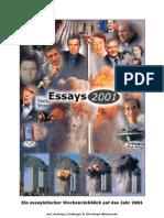 Essays 2001