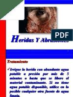 Manejo de Heridas y Abrasiones