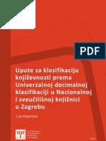 UNIMARC - upute za klasifikaciju