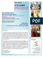 Risk Assessment & Risk Control