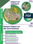 ANEA1102 Kuliah 26 Human Impact on Environment
