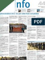 Stadtinfo Aalen - KW 52 - 2012