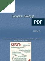 Socijalna ekologija