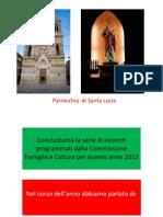 Microsoft Powerpoint Serata Chiesa Santa Lucia Presentazione Dic