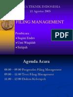 Filing Management