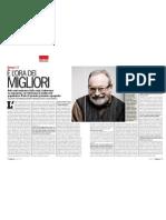 Colloquio Con il Filosofo FERNANDO SAVATER Sulla Crisi - L'Espresso 28.12.2012