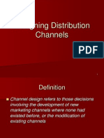 Designing Distribution Channels