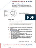 Installation Procedure - RfN 7012