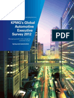 SelasTurkiye - KMPG Global Automotive Survey 2012 Excerpted