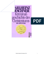 Historia Criminal Del Cristianismo II