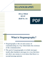 Steganography Presentation