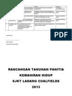 Rancangan Tahunan Kh 2013 2