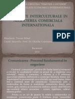 INFLUENTE INTERCULTURALE IN NEGOCIEREA COMERCIALA INTERNATIONALA
