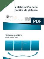 Politicas de Seguridad y Defensa