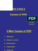 2.  Road to WWI