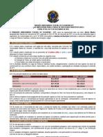 Edital 105 2012 Abertura Inscricoes Atualizado 2retificacao