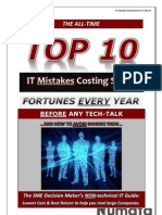 Top-10 IT Mistakes Costing SME's Fortunes - Even BEFORE Any Tech-Talk