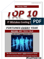 Top-10 IT Mistakes Costing SME's Fortunesv1
