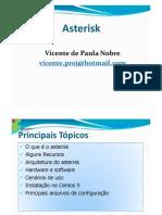apresentação asterisk