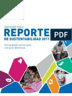 Reporte de Sustentabilidad de Unilever 2011