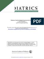 Pulmonary Function Testing in Neuromuscular Disorders