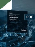 Reporte de Sostenibilidad Telefónica 2011