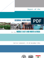 Report of the Regional Agro-Industries Forum for the Middle East and North Africa - English - Arabic - Plannplay - Final