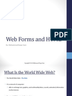 Web Forms and HTML3