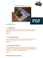 Guia nutricional P90x traducida