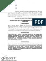 Acuerdo 26-2012 Formularios ISR