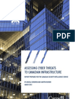 CSIS research paper on cyber threats to critical infrastructure